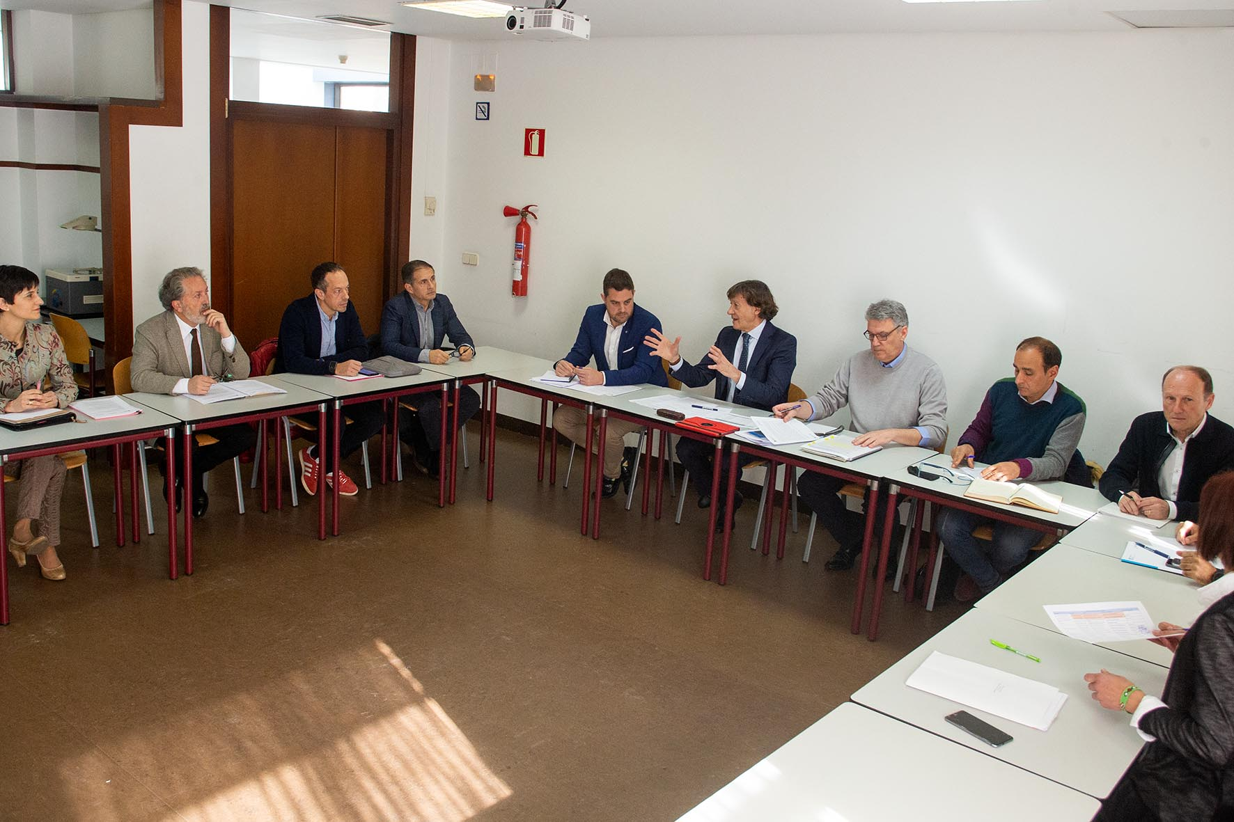 Reunión da Comisión