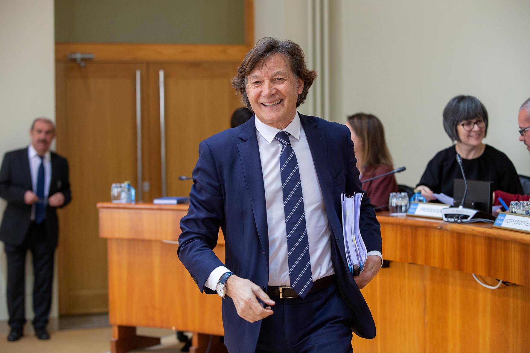 José Ramón Lete Lasa no Parlamento de Galicia