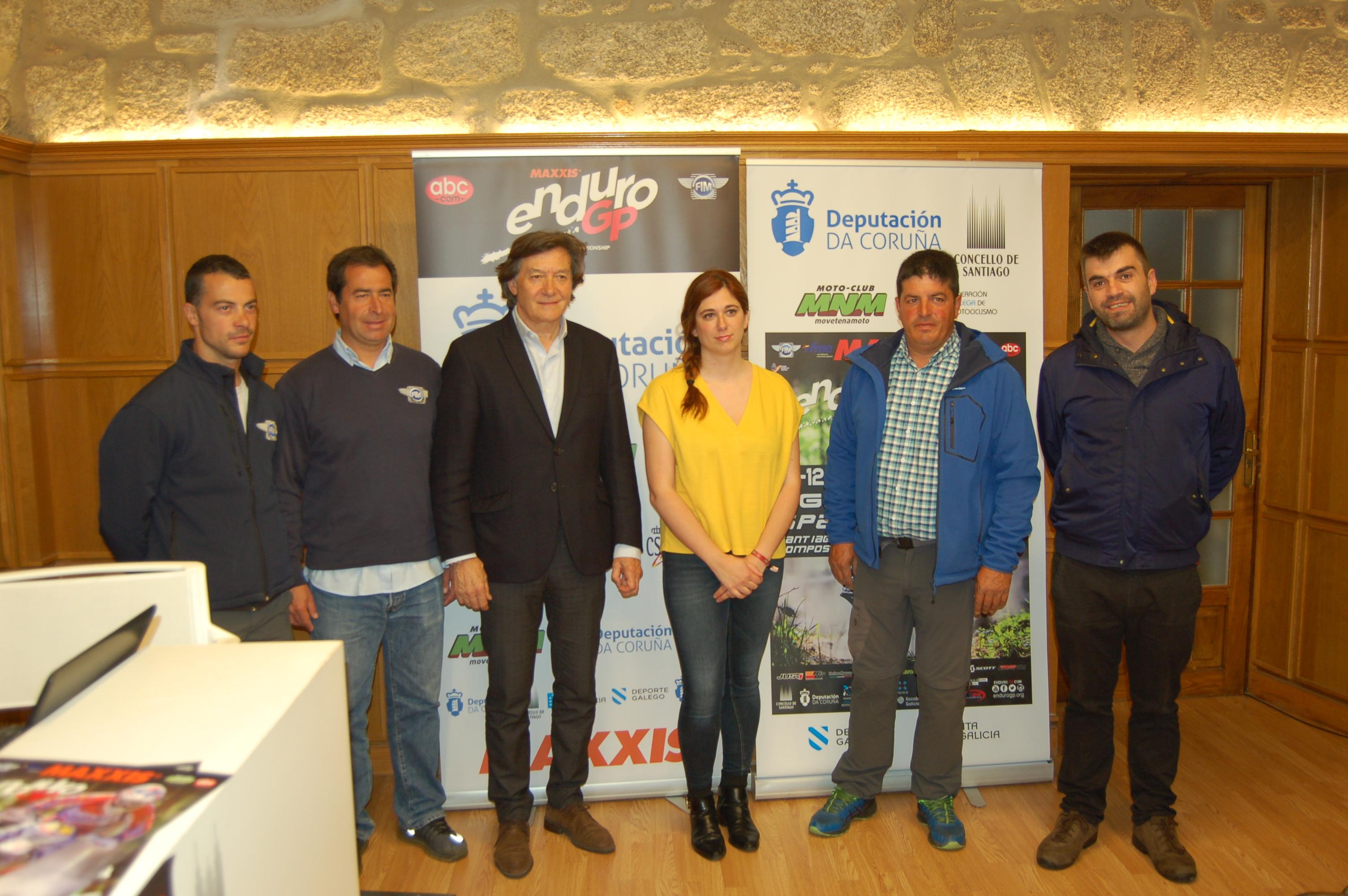 Presentación do Campionato do Mundo de Enduro