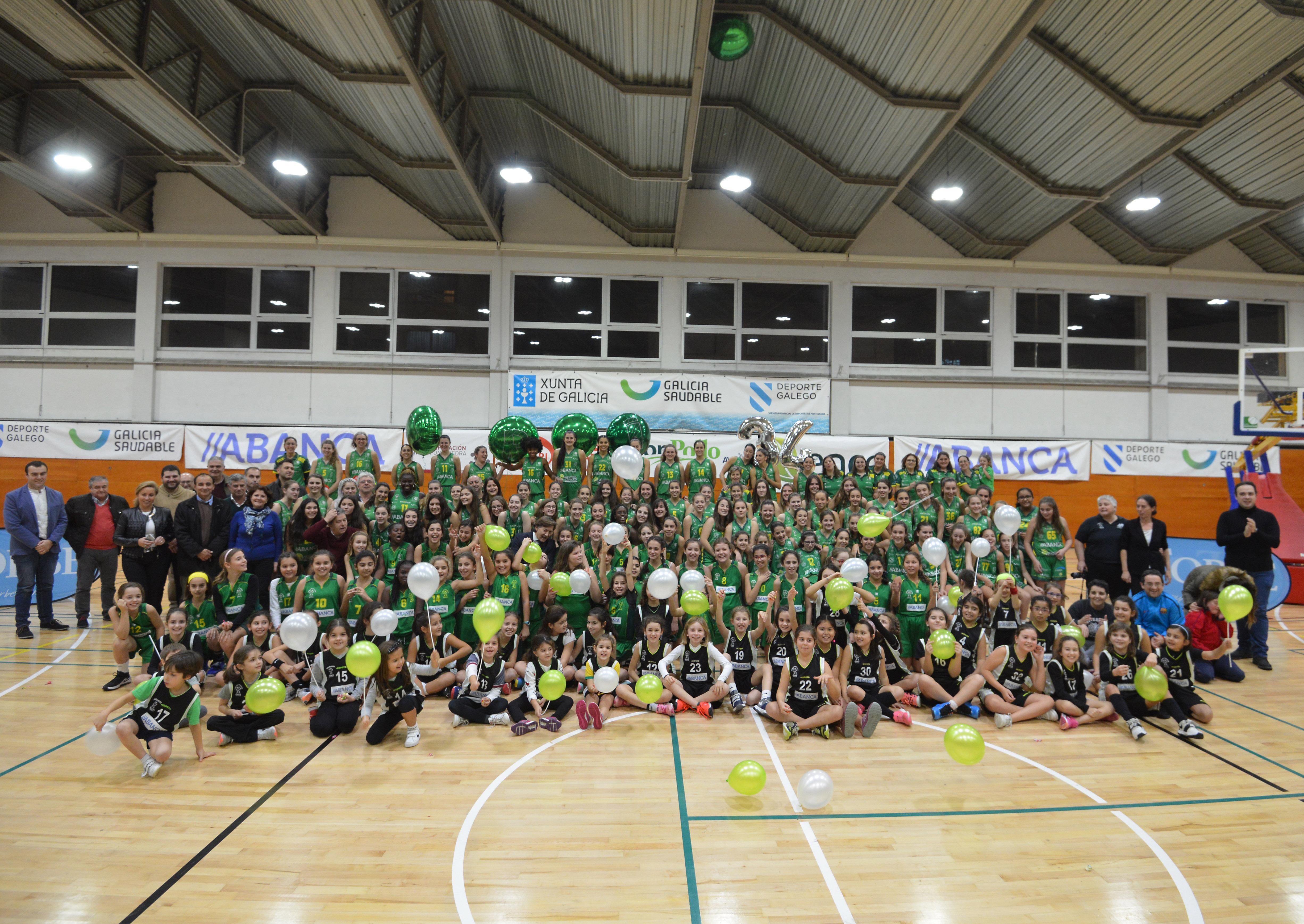 Presentación dos equipos do Club Baloncesto Arxil para a tempada 2018-201
