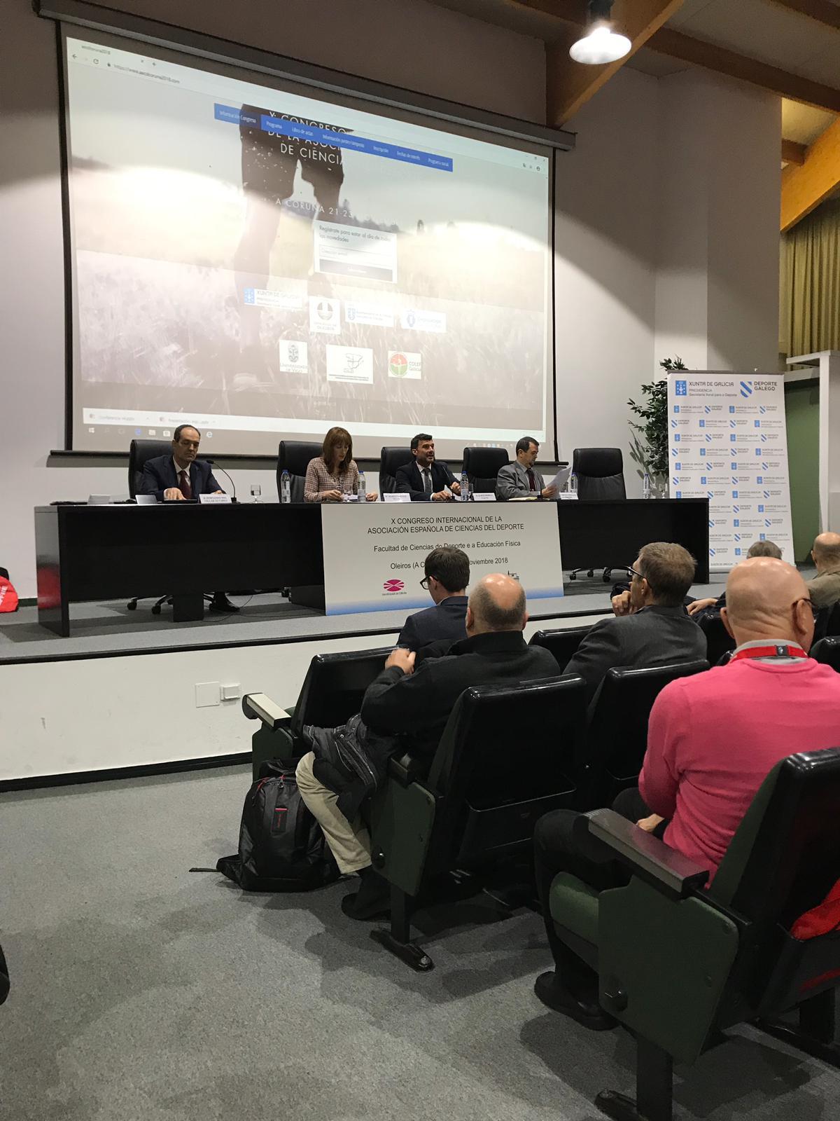 Congreso Internacional da Asociación Española de Ciencias do Deporte
