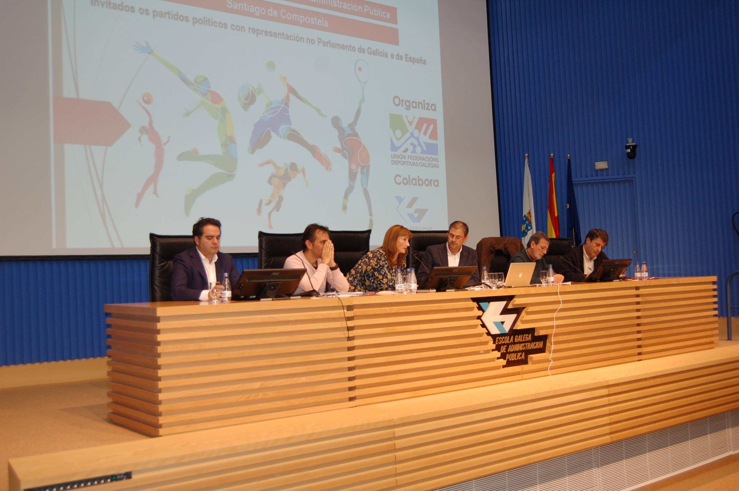 'I Xornada sobre as políticas deportivas galegas'