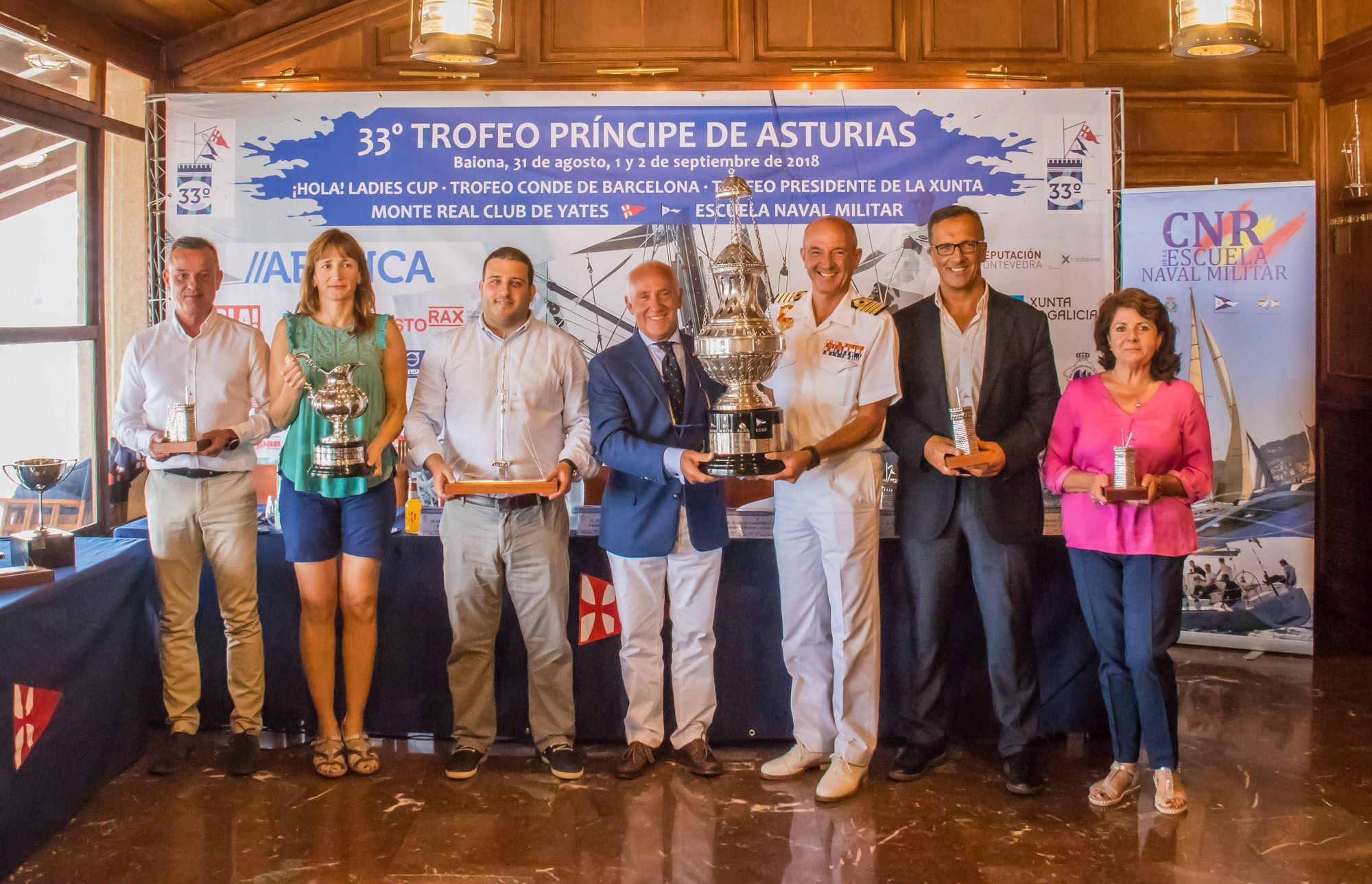 Presentación do 33º Trofeo Príncipe de Asturias