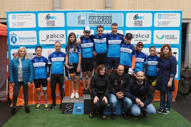 Vencedores e vencedoras do XVII Trofeo Cidade de Santiago de Ciclocross