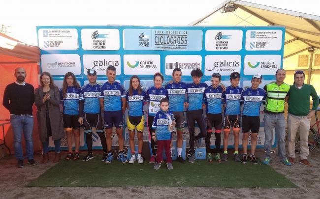 Cerimonia de entrega de premios do I Ciclocross Poio Móvese