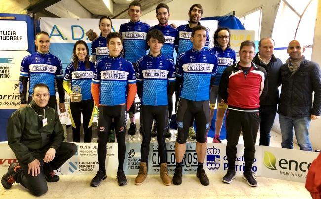 Undécima proba da Copa Galicia de Ciclocross 2017, disputada no Porriño