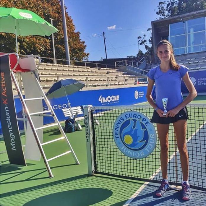 Aranai Martinez Quintana finalista en el Tenis Europe de Oporto