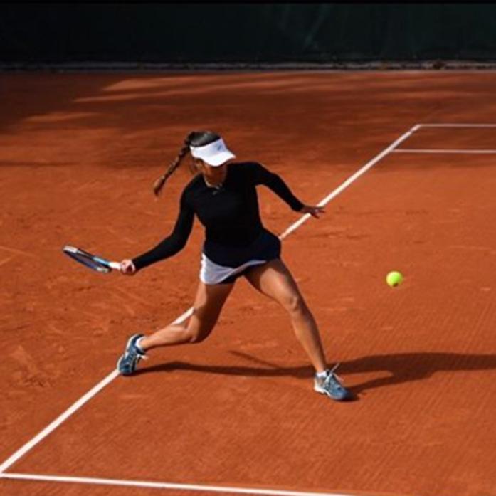Jéssica Bouzas, gran papel no cadro de dobres de Roland Garros Junior