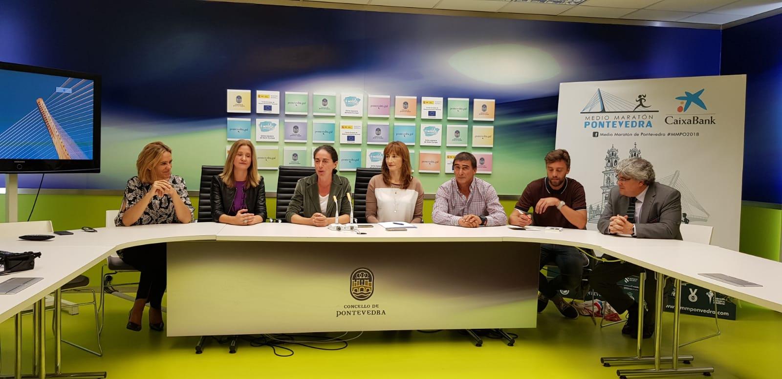 Presentación da Media Maratón de Pontevedra
