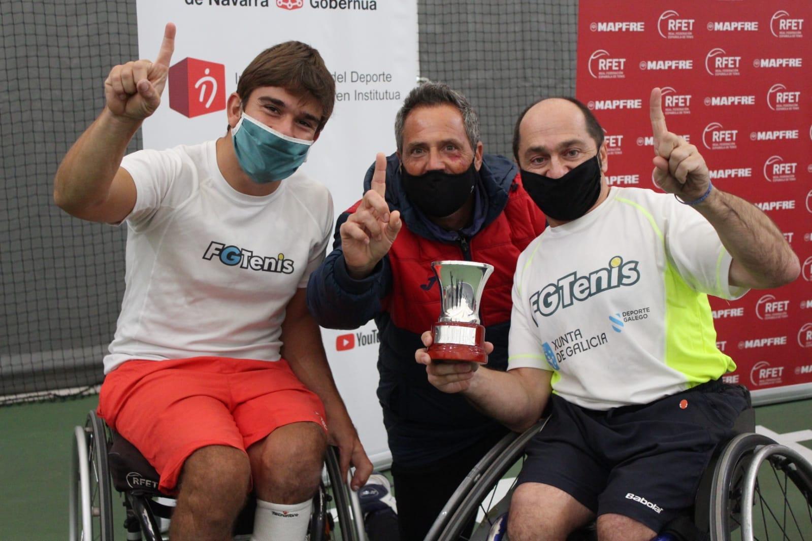 Galicia gaña o Campionato de España por CCAA de Tenis en Cadeira de Rodas 2020