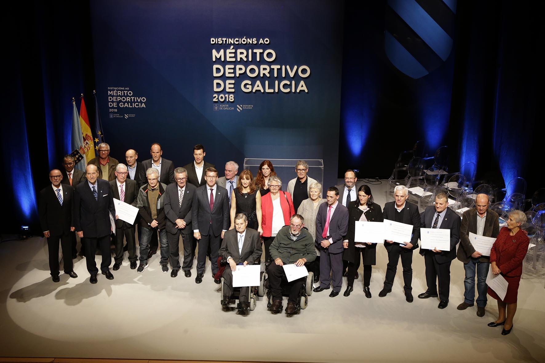 Distincións ao Mérito Deportivo de Galicia 2018