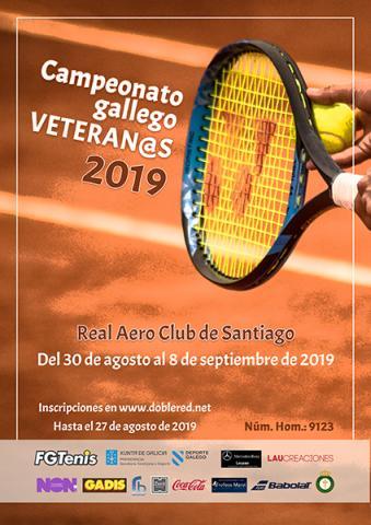 Cartel Campionato Galego de Veteranos